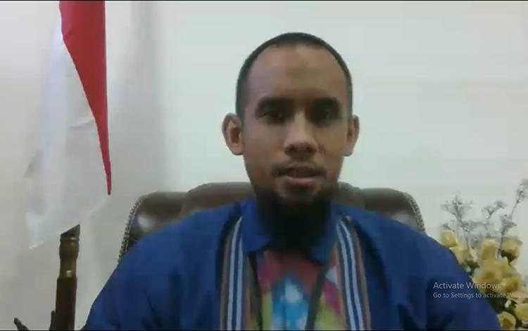 Kepala Tim Advisory dan Pengembangan Ekonomi, Bank Indonesia Perwakilan Kalimantan Tengah, Yudo Herlambang.