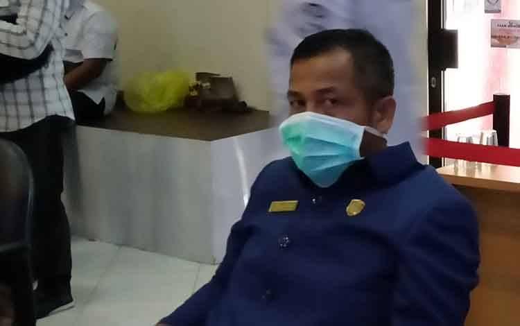 Anggota DPRD Kotawaringin Timur, SP Lumban Gaol.