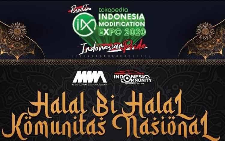 100 komunitas dan klub mobil dalam naungan forum Indonesia Community untuk mengadakan acara Halal bihalal Komunitas Nasional secara digital pada Sabtu 6 Juni 2020.