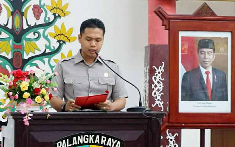 Anggota Komisi B DPRD Kota Palangka Raya, Ted Apry Mahendra