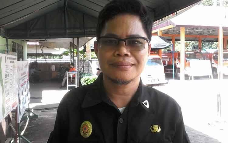Koordinator gugus tugas Covid-19 yang juga Kepala Pelaksana Badan Penanggulangan Bencana Daerah atau BPBD Kabupaten Katingan, Eka Suryadilaga