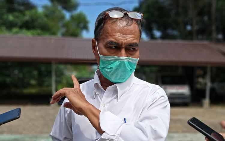 Koordinator Bidang Pencegahan Gugus Tugas Percepatan Penanganan Covid-19 Kabupaten Barito Timur Simon Biring