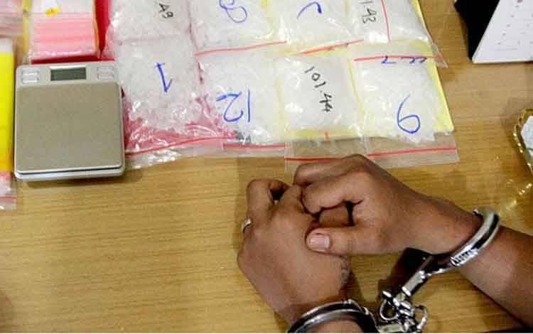 Ilustrasi penjahat narkoba. TEMPO/Iqbal Lubis