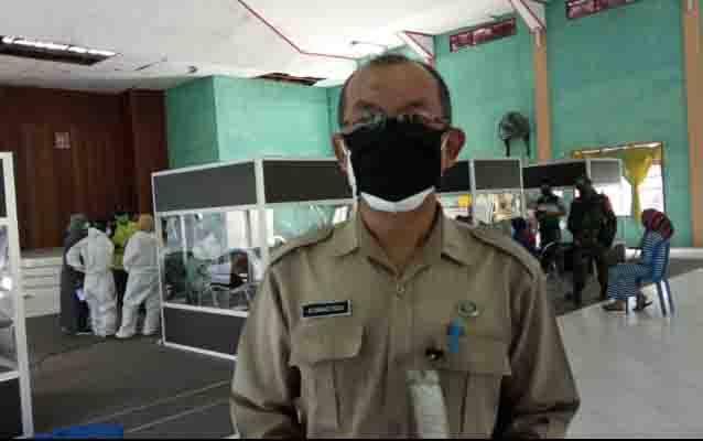 Juru Bicara Gugus Tugas Percepatan Penanganan Covid-19 Kabupaten Kotawaringin Barat, Achmad Rois.