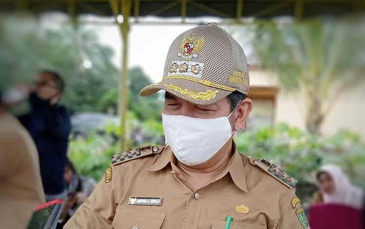 Bupati Barito Timur sekaligus Ketua Gugus Tugas Percepatan Penanganan Covid-19 Kabupaten, Ampera AY Mebas.