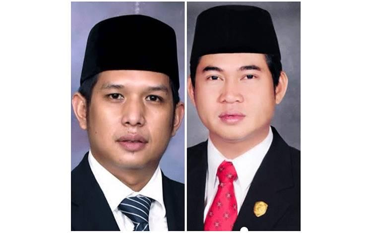 Bakal Calon Bupati Kotim M Rudini Darwan Ali dan HM Jhon Krisli.