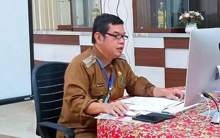 Ketua Gugus Tugas Percepatan Penanganan Covid-19 Kabupaten Barito Timur, Ampera AY Mebas.