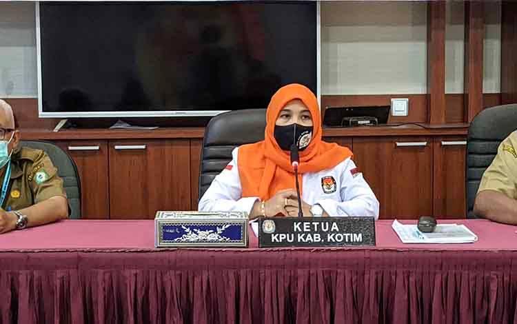 Ketua KPU Kotim Siti Fathonah Purnaningsih
