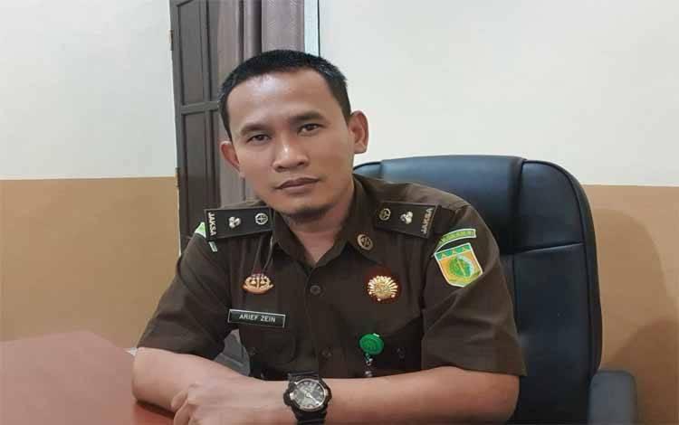 Kasi Intelijen Kajari Barito Timur, Arief Zein