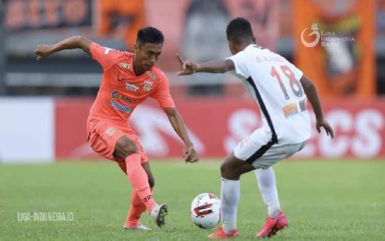 Pemain Borneo FC, Dedi Hartono. (liga-indonesia.id)