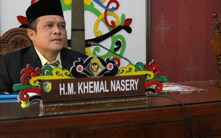 Anggota Komisi B DPRD Kota Palangka Raya HM Khemal Nasery