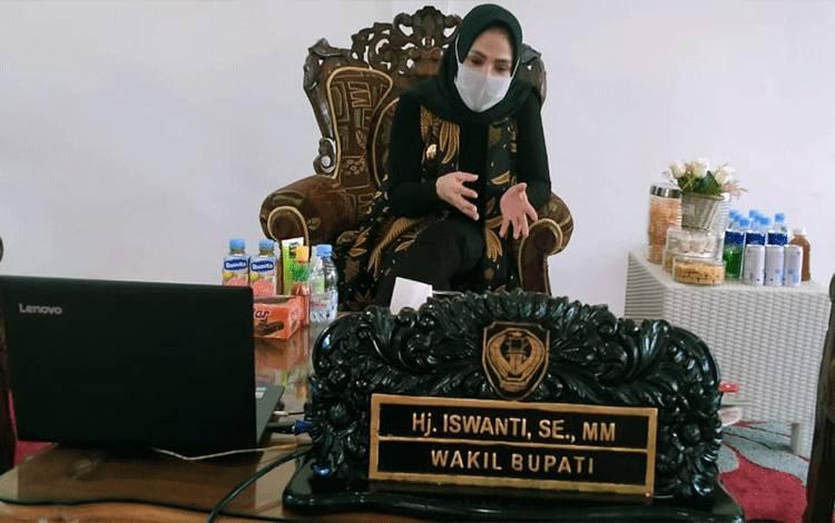 Wakil Bupati Seruyan Hj Iswanti
