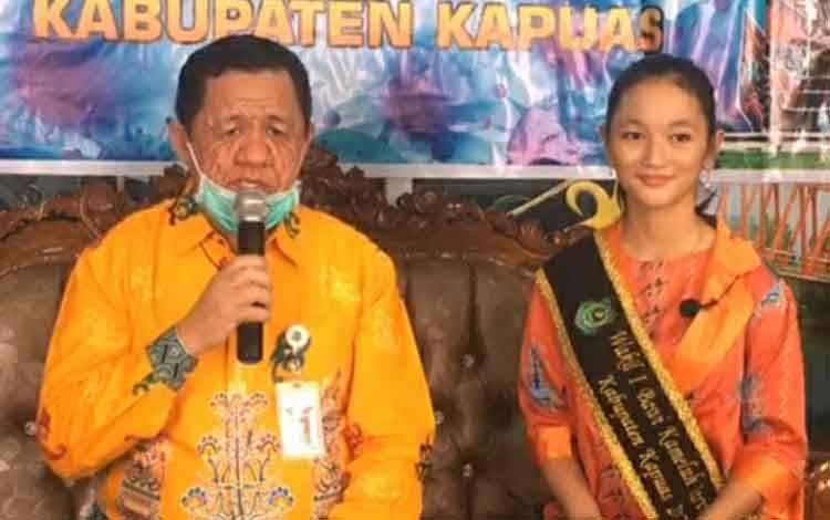 Juru Bicara Gugus Tugas Percepatan Penanganan Covid-19 Kabupaten Kapuas, Junaidi
