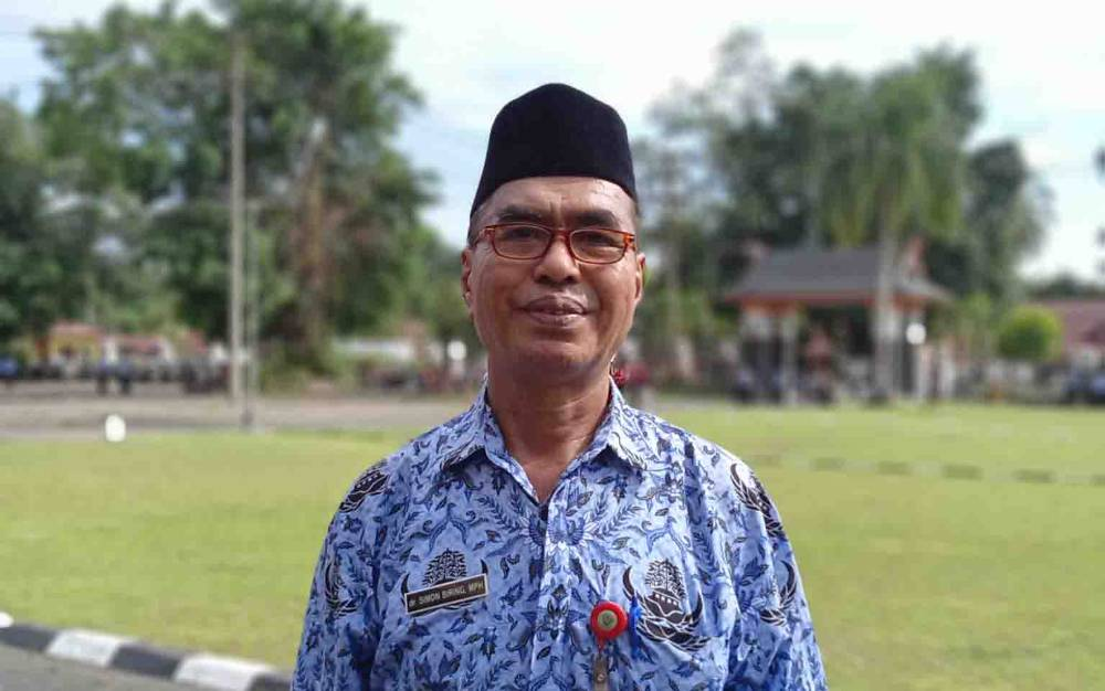 Kepala Dinas Kesehatan Barito Timur, Simon Biring.