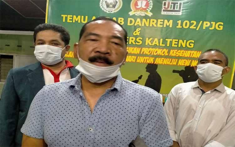 Komandan Korem 102 Panjung Panjung Brigjen TNI Purwo Sudaryanto