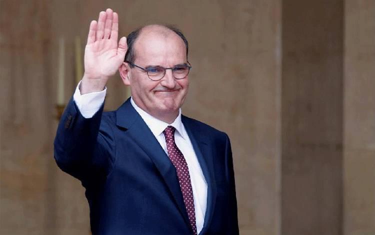 Presiden Prancis Emmanuel Macron memilih Jean Castex sebagai Perdana Menteri pada Jumat, 3 Juli 2020. Sumber: Reuters Canada