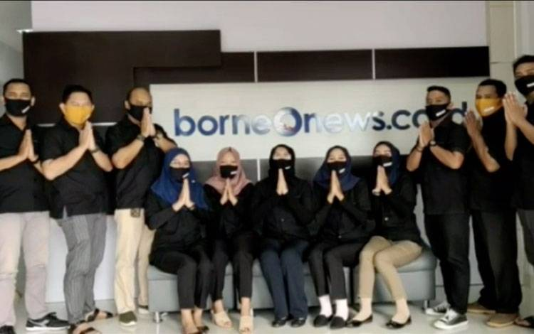 Keluarga Besar Borneonews.co.id