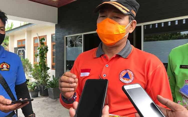Ketua Harian Gugus Tugas Covid-19 Kapuas, Panahatan Sinaga.