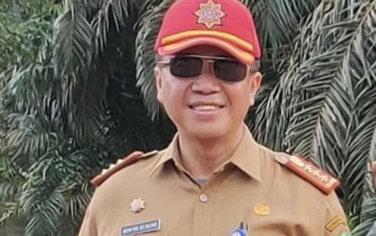 Kabag Ekonomi, SDM dan SDA Setda Kotim, Wim RK Benung
