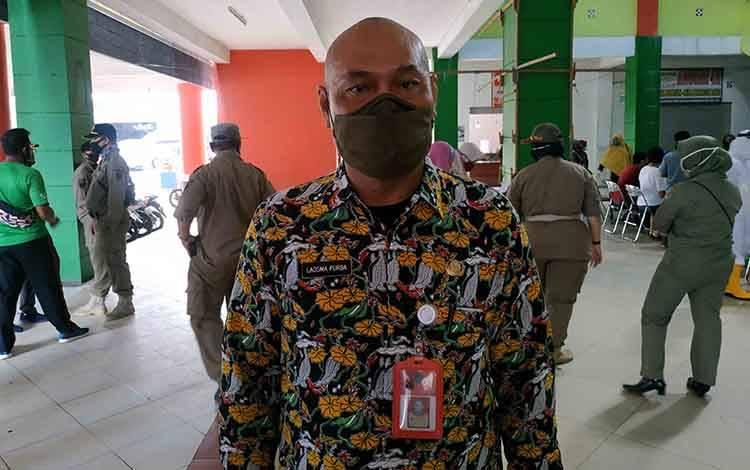 Kadis Koperindag Seruyan, Laosma Purba.