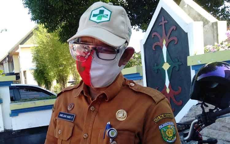 Kepala Dinas Kesehatan Kota Palangka Raya drg Andjar Hari Purnomo