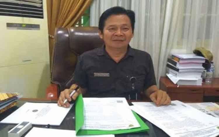 Kepala Dinas Dinas Energi dan Sumber Daya Mineral Provinsi Kalteng Ermal Subhan