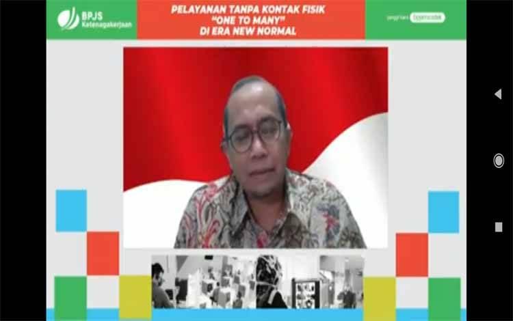 Ketua Dewan Pengawas BPJS Ketenagakerjaan, Guntur Witjaksono