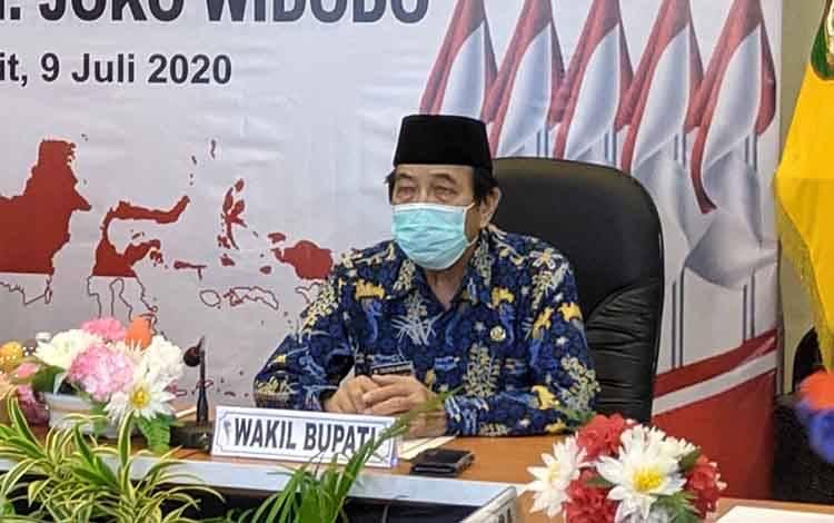 Wakil Bupati Kotim Taufiq Mukri, Disperkim akan dileburkan kadi satu dengan DPUPR Kotim.