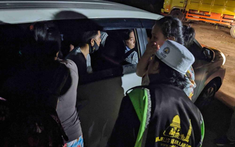 Penangkapan bandar sabu di Jalan Sampurna, Kecamatan MB Ketapang, Sampit, Jumat, 10 Juli 2020 malam.