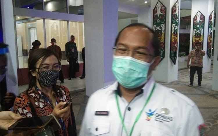 Kepala Dinas Provinsi Kalimantan Tengah Suyuti Syamsul