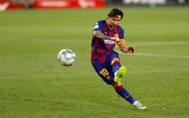 Lionel Messi. REUTERS/Marcelo Del Pozo