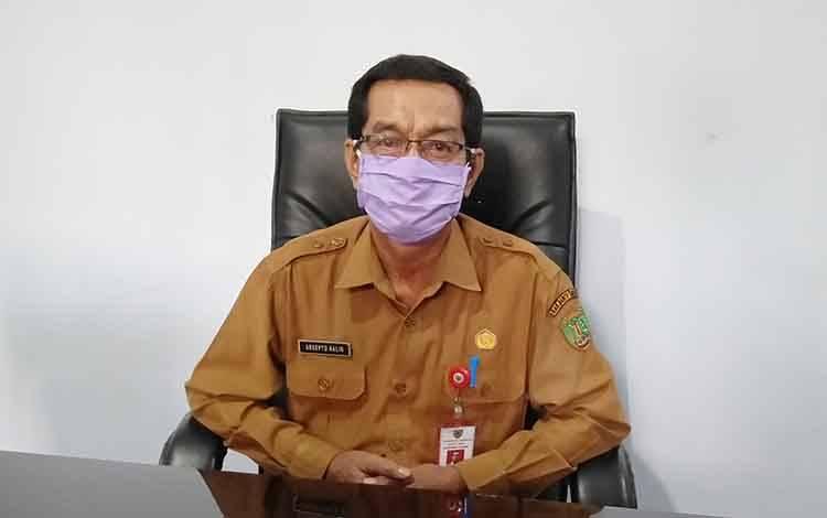 Pelaksana tugas Kepala Dinas Pendidikan Kabupaten Barito Timur, Arsepto Halin