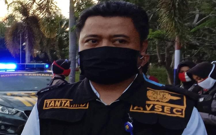 Asisten Manager Of Airport Security Bandara Tjilik Riwut Palangka Raya, Tanta menyampaikan setelah membantu pihak kepolisian mengamankan remaja balapan liar, Senin 13 Juli 2020.