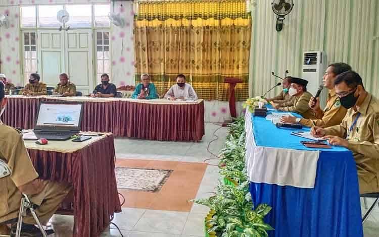 Kemenag Kapuas rapat koordinasi terkait Pendataan Penetapan Status Pengguna Barang Milik Negara