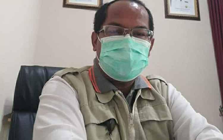 Wakil Ketua Harian Gugus Tugas Percepatan Penanganan Covid-19 Kalteng Suyuti Syamsul.