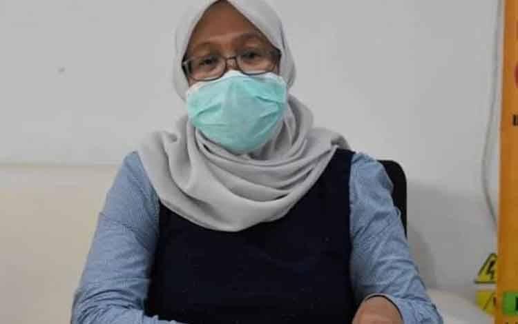 Direktur RSUD dr Doris Sylvanus, dr Yayu Indriyati.