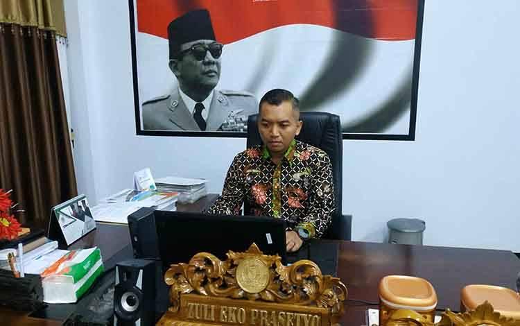 Ketua DPRD Seruyan Zuli Eko Prasetyo