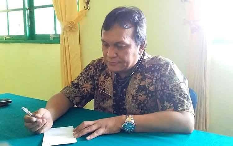 Koordinator Bidang Penanganan Gugus Tugas Percepatan Penanganan Covid-19 Kabupaten Barito Timur, Jimmy WS Hutagalung