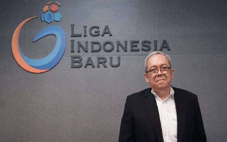 Direktur utama PT Liga Indonesia Baru, Akhmad Hadian Lukita. (Liga-Indonesia.id)