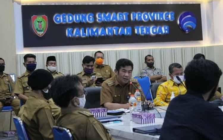 Plt Kepala Dinas Kominfo Provinsi Kalimatan Tengah Agus Siswadi