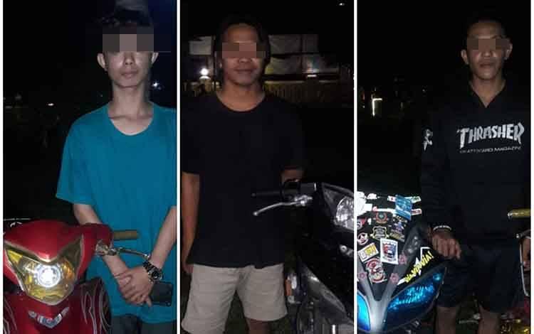 Tiga pemuda diciduk Polsek Arsel karena melakukan balapan liar