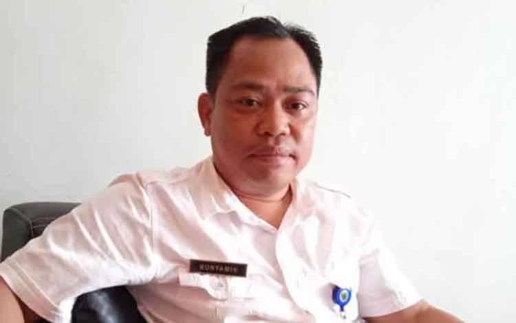 Kabid Cipta Karya Dinas PUPR Kabupaten Barito Timur, Bunyamin.
