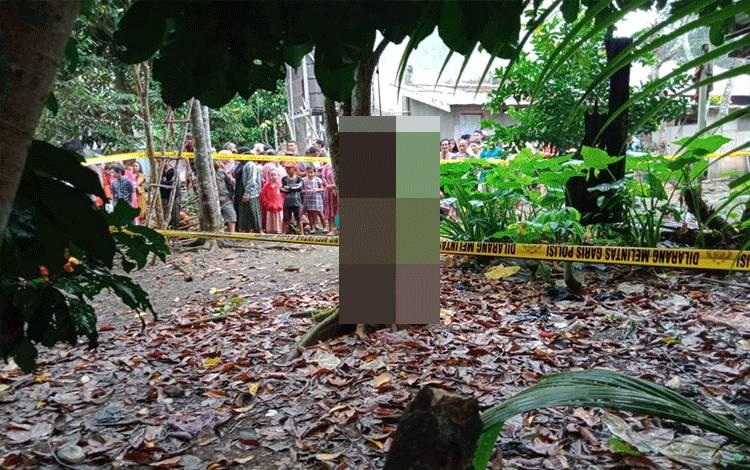 W, (20) Desa Danau Masura kecamatan Dusun selatan Kabupaten Barito Selatan nekat mengakhiri hidupnya dengan cara bunuh diri di Desa Lampeong Kecamatan Pematang Karau Kabupaten Barito Timur, Sabtu 1 Agustus 2020