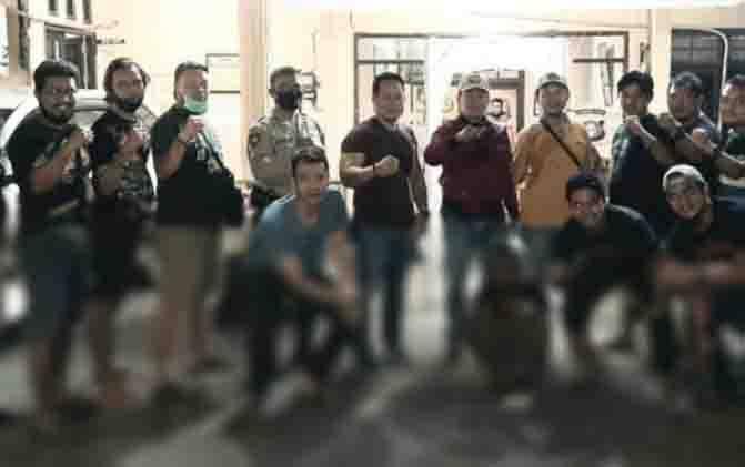 Tersangka pencurian di Sukamara yang berhasil ditangkap di Sampit.