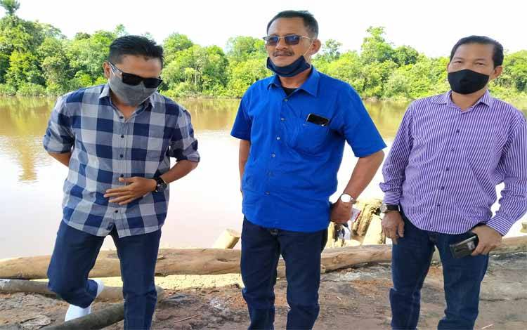 Sidak Komisi IV DPRD Kotawaringin Timur pada Tersus di Kecamatan Cempaga
