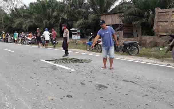 Kecelakaan Maut di Kotawaringin Barat, 1 Orang Tewas dan 1 Putus Tangan Kanan