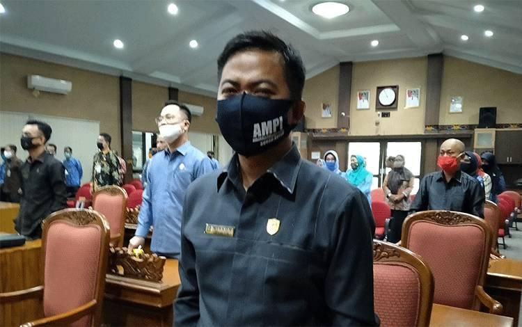 Anggota Komisi III DPRD Kotawaringin Timur Riskon Fabiansyah