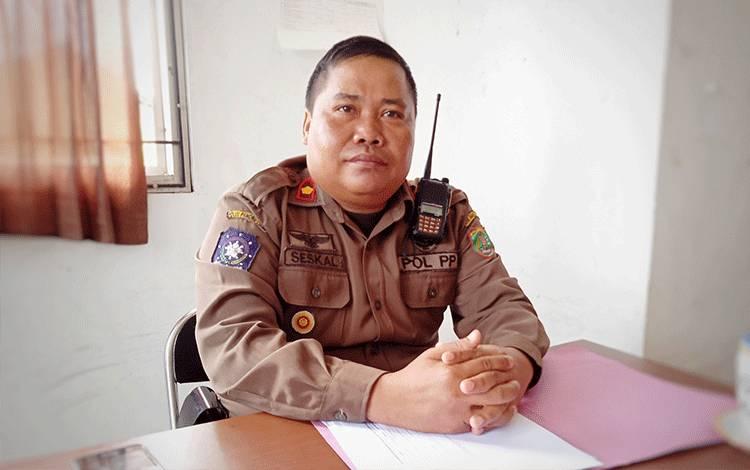 Kabid Penegakan Perda Satpol PP Barito Timur, Seskal Harry Buni