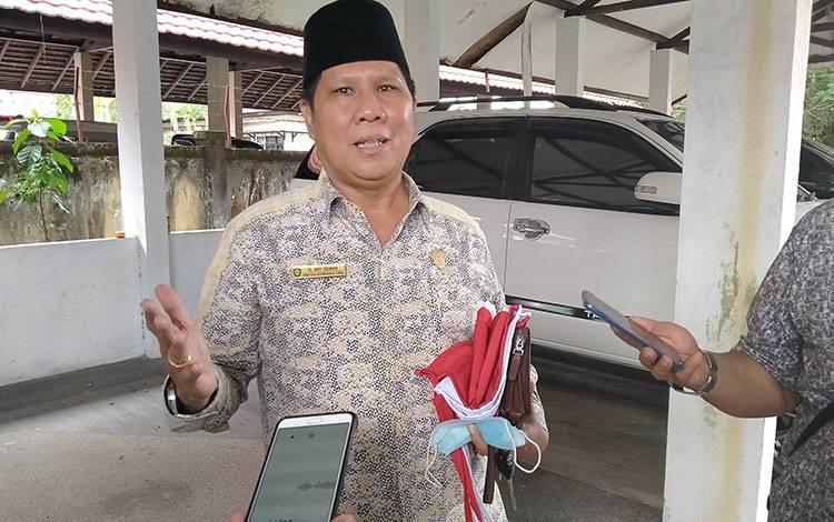Sekretaris Komisi IV DPRD Kotawaringin Timur, H Ary Dewar.