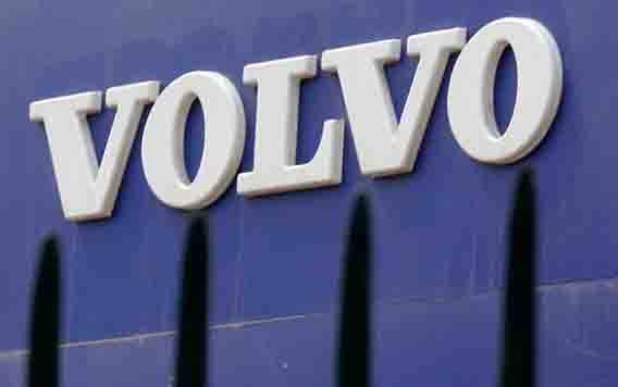 Logo Volvo. (foto : Reuters via teras.id)